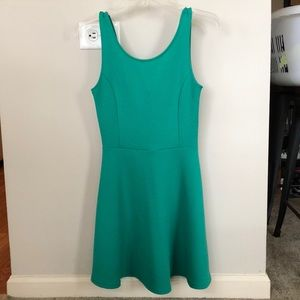 Divided by H&M Seafoam green circle dress